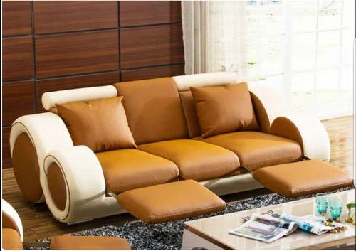 Ergo Elegance Leather Sofa Set