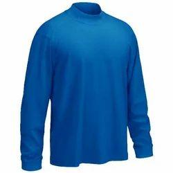 Good Quality Mens Blue Neck T Shirts