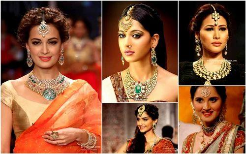 Mehndi Hairstyles With Tikka : Bollywood maang tikka fashion jewelry & bridal beauty products