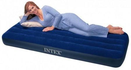 intex single air mattress Intex Single Air Bed at Rs 850 /piece(s) onward | Hawa Wala Bister  intex single air mattress