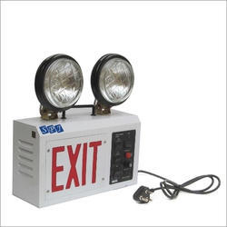 Twin Beam Emergency Exit Lights