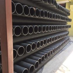 Black and White Dwc HDPE Pipes, Size: 1 and 3 Inch