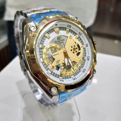 Silver Gold Casio Edifice Watches c203472edb17
