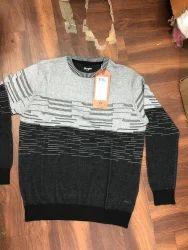 WOLLEN Round Neck Mens Sweater