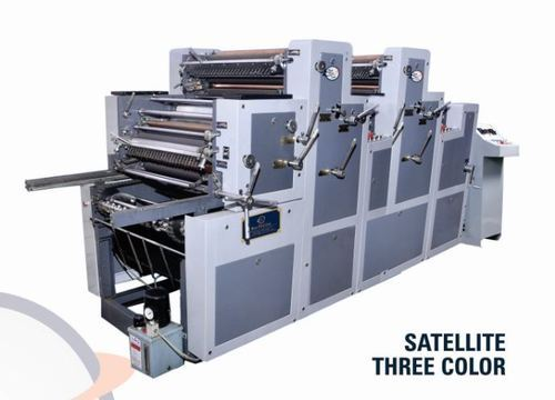 Satellite Three Color Sheetfed Offset Printing Machine
