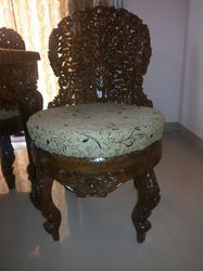 Wooden Carved Cushion Sofa