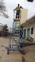 9 Feet Aluminium Extension Ladder