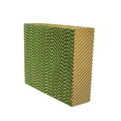 Green and Brown Evaporative Cooling Pad