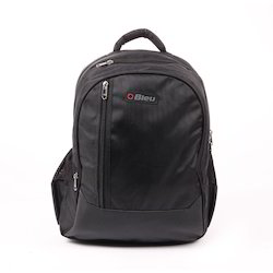 Black Trendy Laptop Backpack Bag