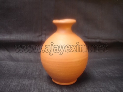 AJAYEXIM & Clay Flower Vase - Clay Beautiful Table Flower Vase Exporter from ...