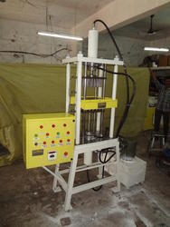 Hydraulic Sambrani Dhoop Machine