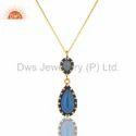 Gemstone Zircon Pendant Jewelry