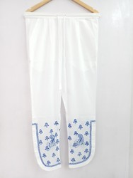 Ladies Chikan Hand Embroidered Pant