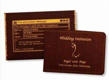 PR 1106 A 0503 Wedding Card