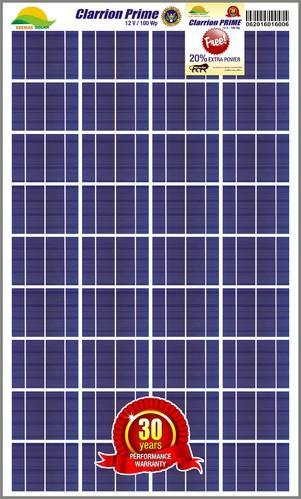 Solar Panel 100 Wp Solar Plate Solar Light Panel Solar Light Panel Solar Light Panel Solar Light Panel In Loni Industrial Area Ghaziabad Seemac Photovoltaic P Ltd Id 10846023448