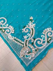 Crystal Stone Work Embroidery Products