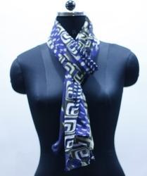 EGSC00012 Abstract Print Cotton Scarf