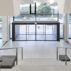 Sliding Door with Anti-intruder Protection