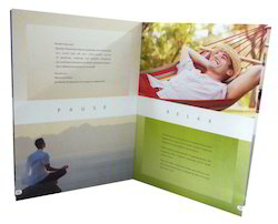 Business Marketing Paper Printed Brochure, Size: A4