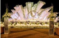 Wedding decoration in mumbai wedding stage decoration junglespirit