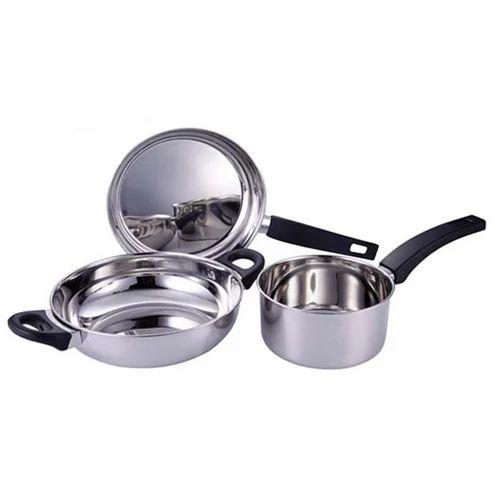 Bartan Set Steel At Rs 650 Piece S Steel Cookwares Id 12718444712
