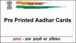 Pre Printed Aadhaar Cards