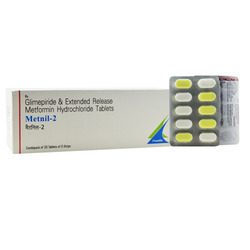 Glimepiride & Extended Release Metformin Tablet