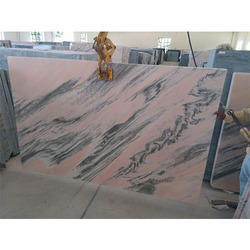 Pink Bidasar Rainforest Marble, Thickness: 30 mm