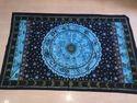 Indian Handmade Zodiac Printed Tapestry