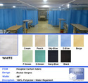 Hospital Curtain Fabric -Richie Stripes