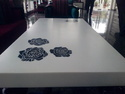 Acrylic Solid Surface Dinning Table Top