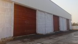 Stainless Steel Full Height Industrial Rolling Shutter