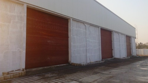 Stainless Steel Full Height Industrial Rolling Shutter