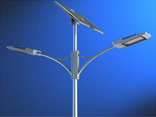double arm solar street lights at rs 25000 piece solar street