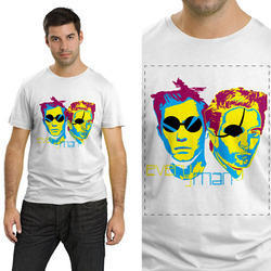 A4 Size Photo Print T Shirt