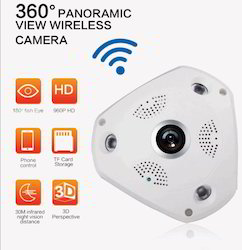 360 Degree Panoramic Fish Eye IP Camera WiFi HD 960P Home Su