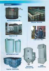 Chemical Related Acid Processing Tanks
