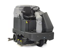 Semi Automatic Ride On Scrubber Drier