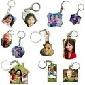 Sublimation Double side key chains