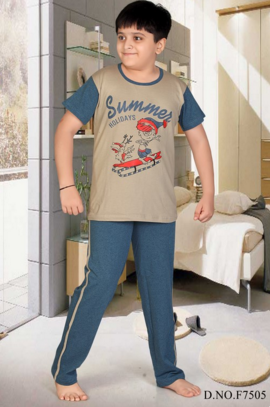 Kids Nightwear - Premium Boys Nightwear Manufacturer from Mumbai 54552b600