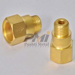 Golden Brass Male Connector