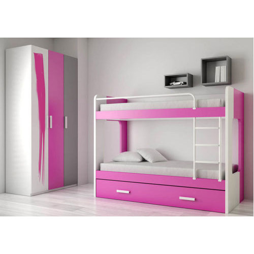 Bunk Beds Classic Pink Bunk Beds Manufacturer From Ghaziabad