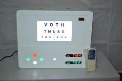 Remote Control Distance Vision Testing Drum