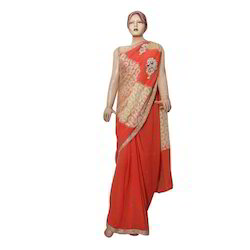 Fancy Indian Ethnic Embroidered Saree