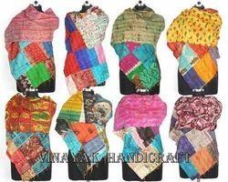 Vintage Kantha Scarves
