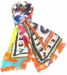 Wool Digital Printed Shawls