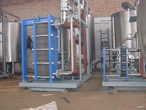Paneer Heater Plate Heat Exchanger For Heater And Cooler