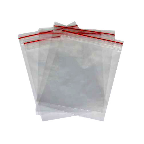 Multi Color Plastic Zipper Bag