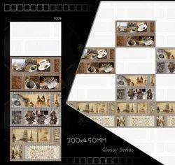 Marvel Ceramic 300x450 Kitchen Wall Tiles, 6 - 8 mm