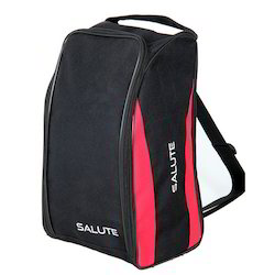 Black and Pink Salute Shoe Bag